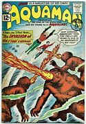 Aquaman No. 1 - Dc 1962 - 1st Of His Own Magazine And 1st Appearance Of Quisp