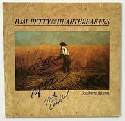 Tom Petty And The Heartbreakers Autograph In-person Group Signed Southern Accents