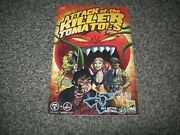 Attack Of The Killer Tomatoes 1 Rare Sdcc Variant Viper Comic Cult Horror Movie