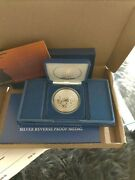 Mayflower 400th Anniversary Silver Reverse Proof Medal Here And Ready To Ship