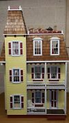 Andnbspdollhouse Custom Walls And Floors Hand Built Moldings Battery Powered Lights