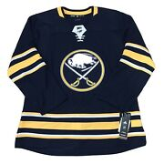 Adidas Buffalo Sabres Blank Authentic Nhl Hockey Jersey Menandrsquos Size 54 Msrp 180
