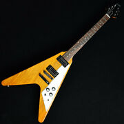 New Gibson Flying V 2019 Antique Natural 121890317 Electric Guitar From Japan