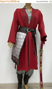 Mulan Cosplay Costume Made To Custom Order / Fan Costume /