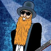 Billy Gibbons By Anthony Parisi Limited Edition Print