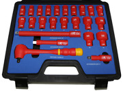 Metric Vde Insulated Socket Set 24 Piece Tande Tools Is424