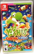 🔥 Yoshis Crafted World Nintendo Switch Lite New Sealed Free Ship