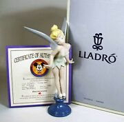 Lladro Tinkerbell 1992. Retired. New With Original Packing And Coa