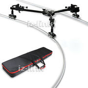 Dolly Track Load 30kg Slider Rail+carry Bag For Camera Photography Video Studio