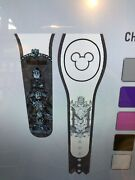 Disney Parks Haunted Mansion Quicksand Men Stretching Portrait White Magicband