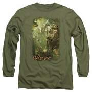 The Hobbit In The Woods Menand039s Long Sleeve T-shirt