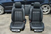2014 W218 Mercedes Cls550 Front And Rear Seats Seat Set Complete Black Leather