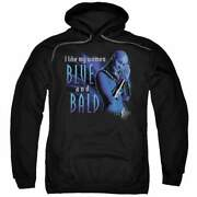 Farscape Blue And Bald Pullover Hoodie