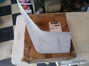 Nos Gm 70-73 Chevy Camaro Lh 1/4 Panel Spoiler Extension Ss Rs Z28 3990475