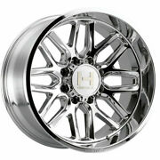 4-new 22 Hostile H120 Vulcan Wheels 22x10 6x135 -25 Chrome Rims 87