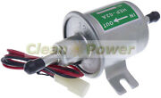 Low Pressure Electric Fuel Pump 12v For Gas Diesel Inline Hep-02a Bhep-02a