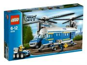 Lego Heavy-lift Helicopter 4439 Complete With All Minifigs And Books, No Box.