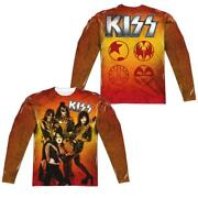 Kiss Fire Pose Menand039s All-over Print T-shirt