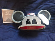 Mickey Mouse Light And Sound Bret Iwan Ear Hat Disney Parks Designer Ears Voiced