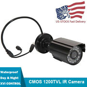Hd 1200tvl Cctv Bullet Camera Home Security System In/outdoor Ntsc Waterproof Us