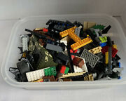 3lb Lego Miscellanous Sizes Shapes Colors Army Tank Built And Included.