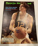 Allie Mcguire Marquette Sports Illustrated Signed Magazine 1972
