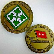 Mg Paul Kern 4th Infantry Division M 21st Century Force Xxi Challenge Coin Lot