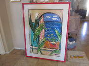 Large Original Artwork By Famous Artist And Designer Anne Ormsby