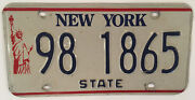 Ny State Government Police Official License Plate Govt Sheriff Trooper Officer