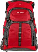 Plano E-series 3600 Tackle Backpack - Red - With Three 3600 Tackle Storage Stows