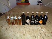 Lot Of 10 Coke Coca-cola Mini Bottles From Brazil From Early 1980s Rare
