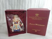 Dept 56 The Candle Crown Collection Alice In Wonderland King Of Hearts Figure