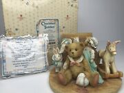 Cherished Teddies - 1991 Christopher Old Friends Are The Best Friends 950483