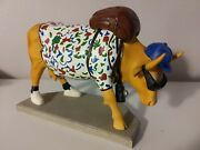 Cow Parade 9121 Out Of Cow Towner 2000 Westland Very Rare Retiredandnbsp1/0017 Cattle