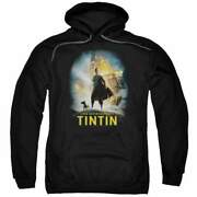 The Adventures Of Tintin Poster Pullover Hoodie