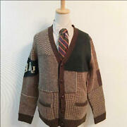 Polo Knit Cardigan With New Tag