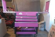 Pink Mac Tool Cart Wrenching For The Cure