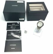 Citizen Eco Drive One Solar Steel Mens Watch Ar5000-68a 7.28inch Ex++