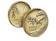 End Of World War Ii 75th Anniversary 24-karat Gold Coin In Hand Ready To Ship