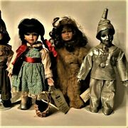 Seymour Mann Limited Edition Storybook Tiny Tots Wizard Of Oz Collection Of Four