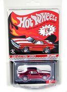 Hot Wheels 2010 Redline Club Selections Series And03969 Camaro Red -rare - 0011/4748