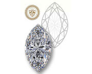 Giacertified Marquise Cut 1.08-ct L-color Vs2-clarity 1.78-rationatural Diamond