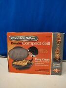 Proctor And Gamble Durable Compact Grill New