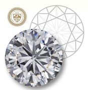 Gia Certified Round Cut 1.03-ct I-color I3-clarity 1-ratio Natural Diamond