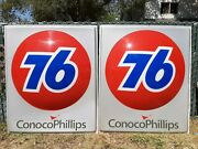 Conocophillips 76 Gas Station Plastic Signs