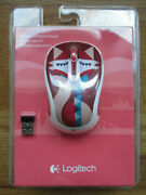 Logitech Wireless Mouse M325c With Receiver 910-004442 Francesca Fox - New