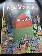 New Yorker Cover Only Sept 7 1968 Charles E. Martin Vintage Antique Barn Vg Cond