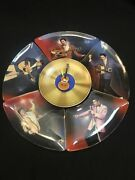 Bradford Exchange Elvis Its Time To Rock Clock And 5 Plates