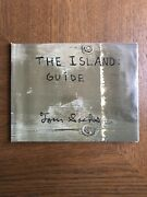 Signed Tom Sachs The Island Guide | Very Scarce 2006 Artist Book