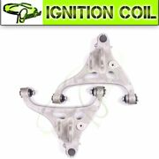 Pair 2 Front Lower Control Arm + Ball Joint Steering Kit For Ford F-150 2005-08